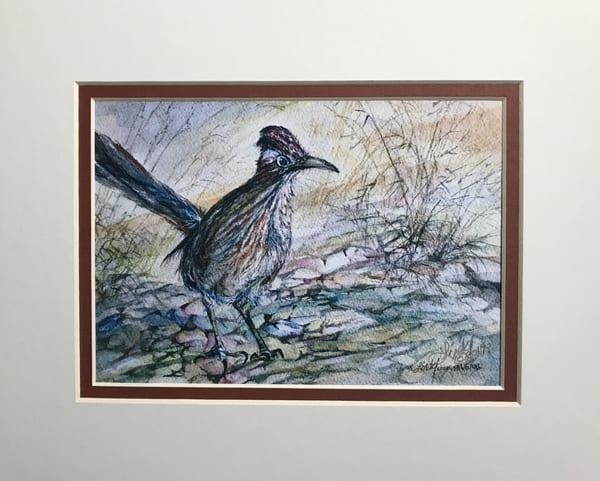 Lindy Cook Severns Art   Rock Runner, mini-print