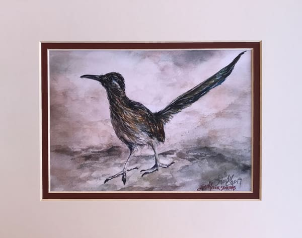 Lindy Cook Severns Art   Road Work, mini-print