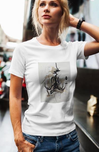 Neutrals Chandelier T Shirt | ashalmonte