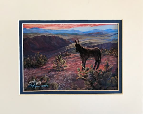 Lindy Cook Severns Art   All is Wild, mini-print