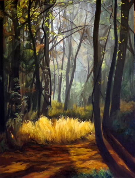 Morning Mist Art   Helen Vaughn Fine Art
