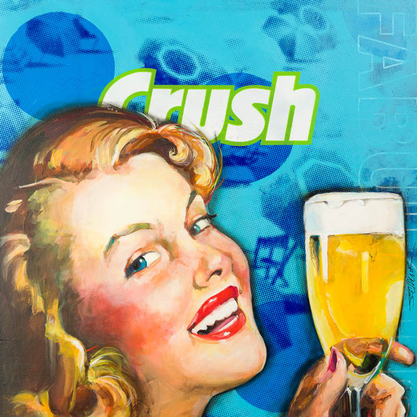 Beer Crush Art | Jeff Schaller