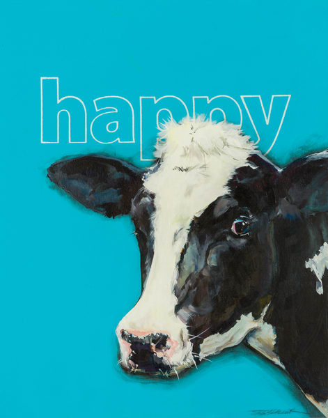 Happy Cow Art | Jeff Schaller