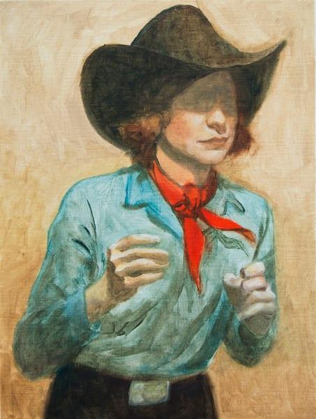 Cowboy Study 1 Art | Kym Day Studio