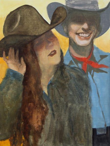 Cowboy Study 3 Art | Kym Day Studio