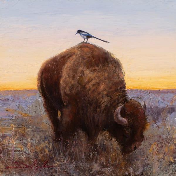 The Lookout, Buffalo painting by Daniel Gonzalez