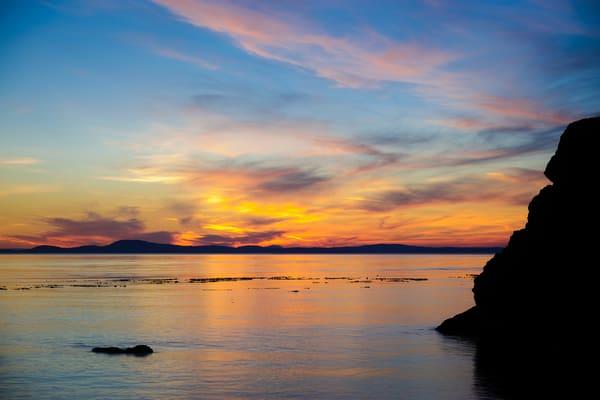 Sunset, Northwest Pass, Deception Pass State Park, Washington, 2016