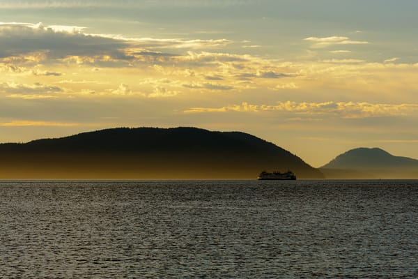 Sunset Ferry, Anacortes, Washington, 2016