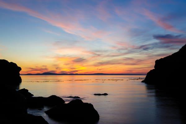 Summer Sunset, Lighthouse Point, Deception Pass State Park, Washington, 2016