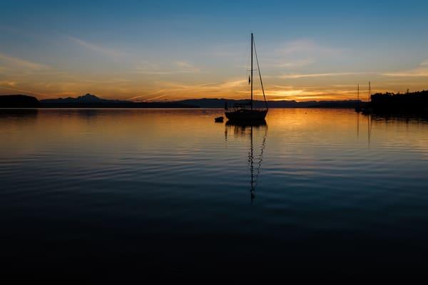 Summer Sunrise, Penn Cove, Washington, 2016