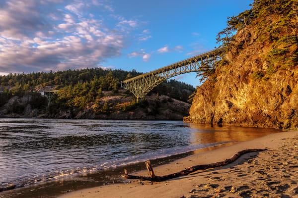 Summer Evening, North Beach, Deception Pass, Washington, 2016