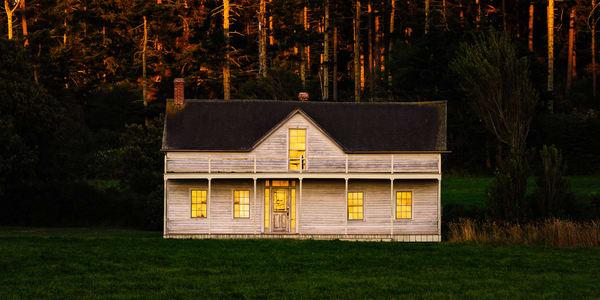 Summer Evening Glow, Ferry House, Whidbey Island, Washington, 2016