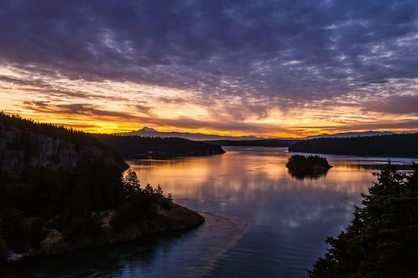 Spring Sunrise, Deception Pass, Washington, 2016