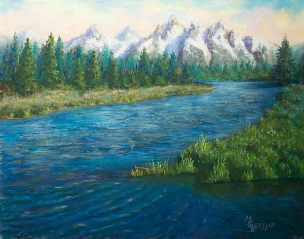 Spring Runoff Art | Mark Grasso Fine Art