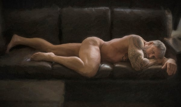Reclining Troy, Limited Edition,