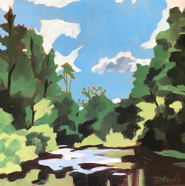 Peaceful Pisgah   Original Art | Bottinelli Fine Art