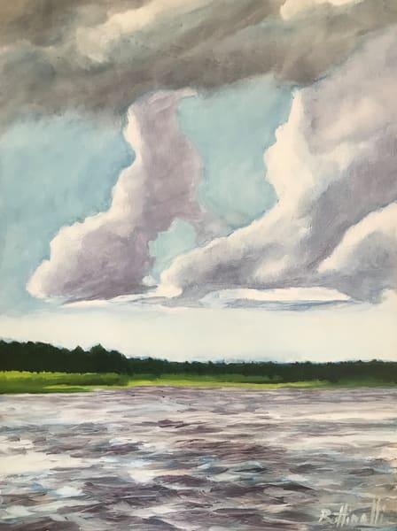 On The River   Original Art | Bottinelli Fine Art
