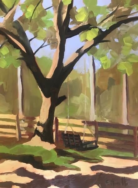 Swing With Me   Original Art | Bottinelli Fine Art