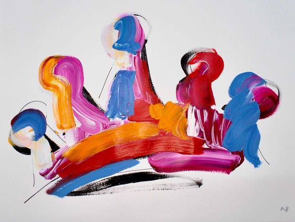 Pink ,Orange, Blue ,Red ,Crown  | ashalmonte