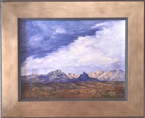 Lindy Cook Severns Art | Lighting the Silence, original oil