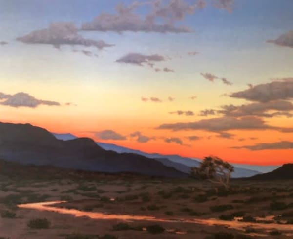 Arroyo In The Afterglow Art | Terry Sauve Fine Art