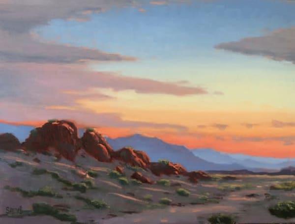 Desert Outcropping  Art | Terry Sauve Fine Art