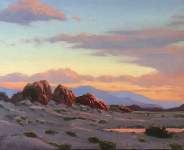 Desert Watering Hole  Art | Terry Sauve Fine Art