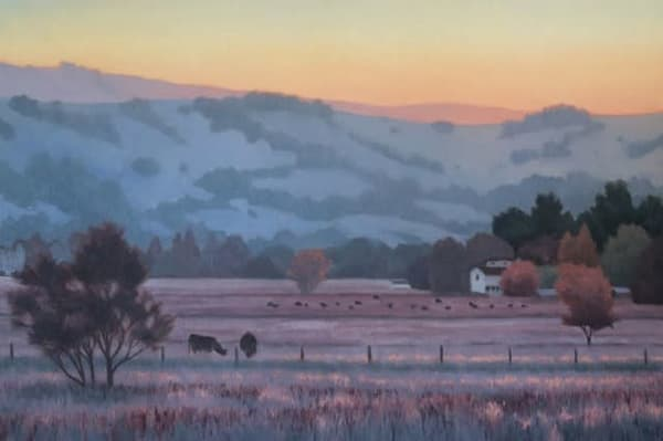 Winter Graze Art | Terry Sauve Fine Art