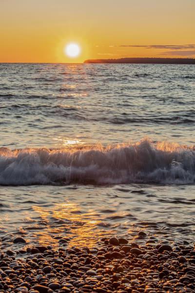 Sunset, Waterfall Beach