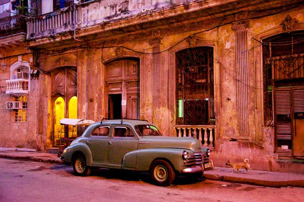 Havana Green Car Photography Art   nancyney