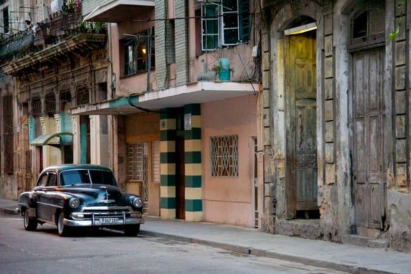 Havana Black Car Photography Art   nancyney