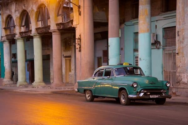 Green Taxi Photography Art   nancyney