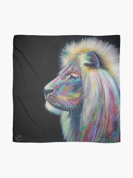 lion, king, majestic, wearable-art,