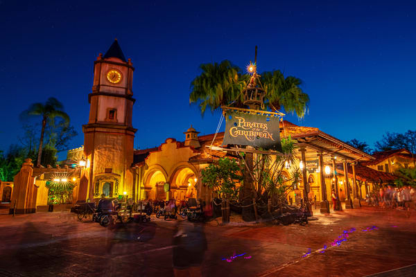 Pirates Of The Caribbean At Night Photography Art | William Drew Photography