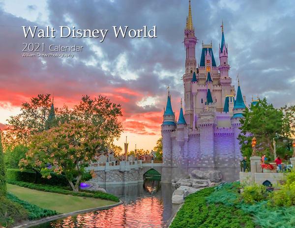 2021 Walt Disney World 16-Month Wall Calendar