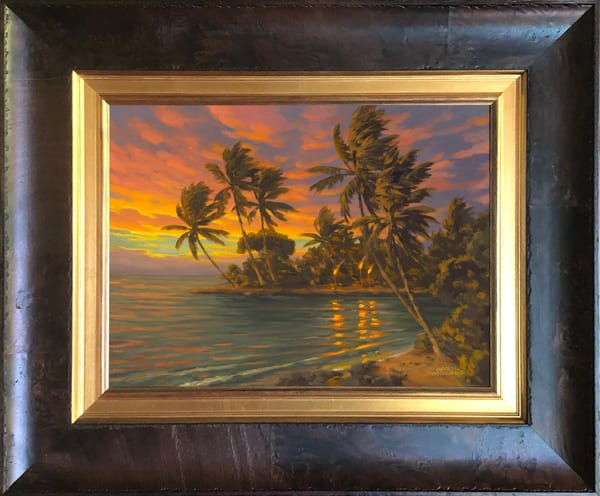 Tropical Majesty ~ In Stock Framed Art   Daryl Millard Gallery LLC