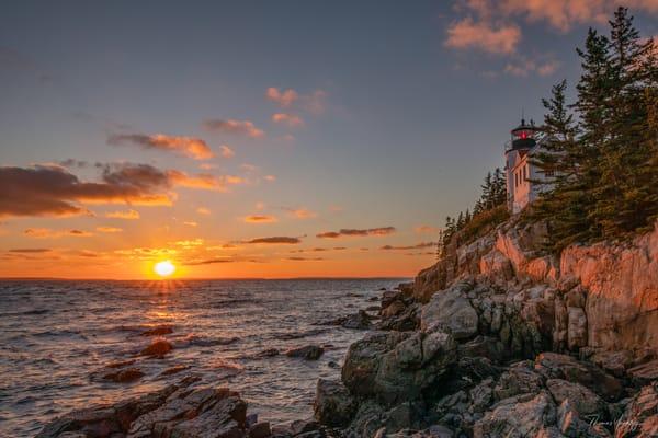Bass Harbor Head Light Photography Art | Thomas Yackley Fine Art Photography
