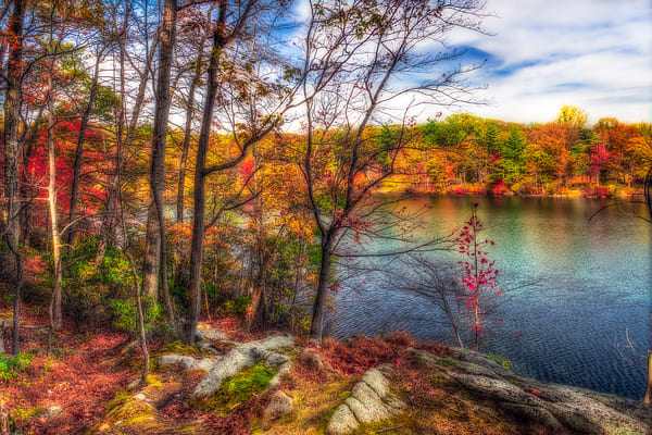 Hessian Lake in the Fall