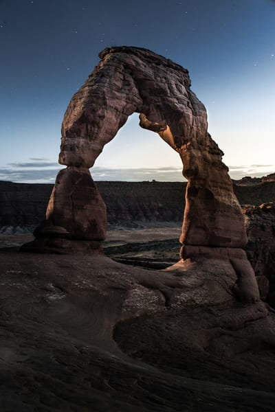 Delicate Arch - The Arches, Utah _ by Varial