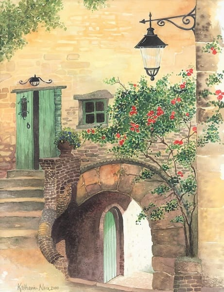 High resolution giclee prints of French Alley by Katharine Taylor