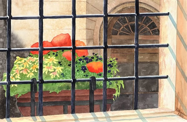 From Inside Out view of a Paris window by Katharine Taylor