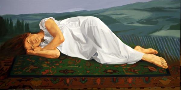 The Dreamer And The Dream Art | Helen Vaughn Fine Art