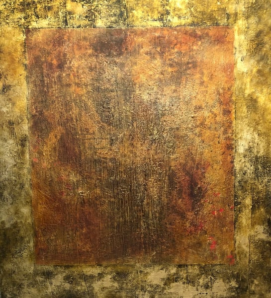 Manifestation Is A Function Of Awareness 60x54 | Adam Shaw Gallery