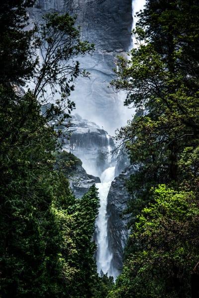 Waterfalls, Yosemite National Park, by Varial