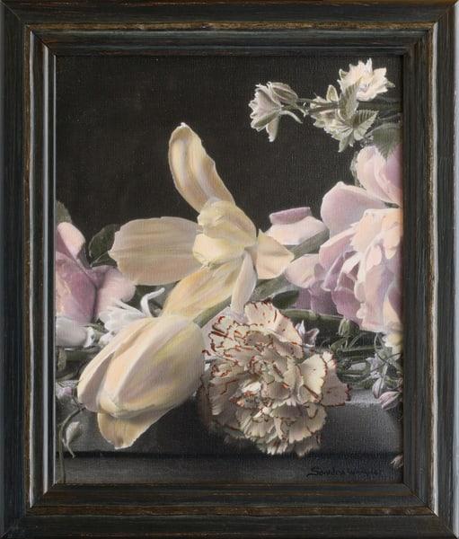 Carnation With Tulips  No 2  Art | Sondra Wampler | fine art