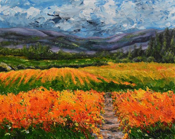 Napa Valley Winery Art – Original Paintings – Fine Art Prints on Canvas, Paper, Metal & More