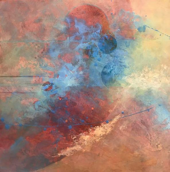 Adrift In The Multiverse Sold Art | mariannehornbucklefineart