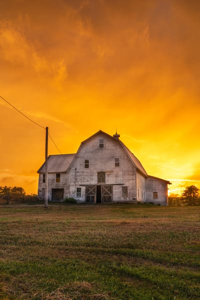 Sunset On The Farm Photography Art | Jesse MacDonald Photography
