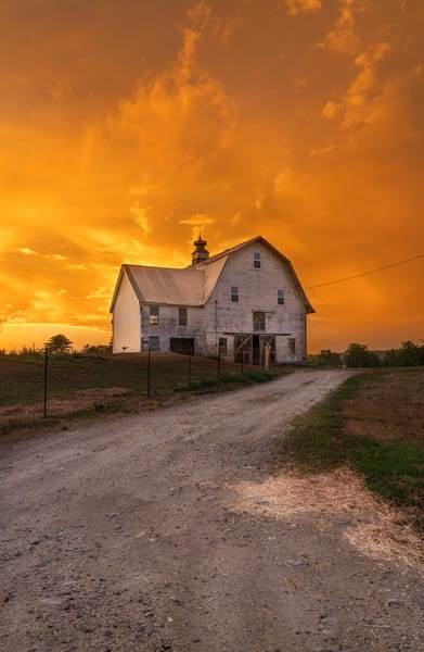 Sunset On The Farm 2 Photography Art | Jesse MacDonald Photography