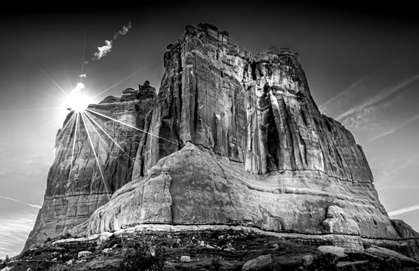 Arches Np Sunstar Photography Art | Greg Woods Photography